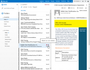 Clutter for Outlook