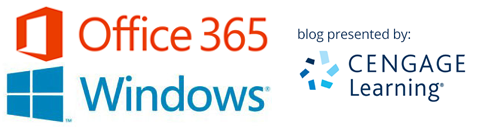 Office 365 & Windows blog presented by Cengage Learning